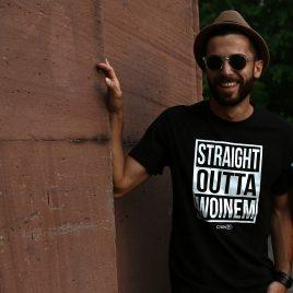 Straight Outta Woinem Männer-Shirt