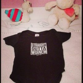 Straight Outta Woinem Organic Baby Body