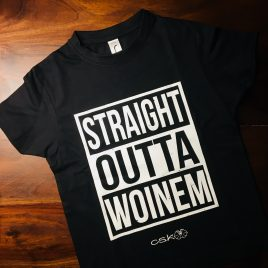 Straight Outta Woinem Kinder-Shirt