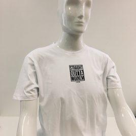 Straight Outta Woinem Dezent Männer-Shirt
