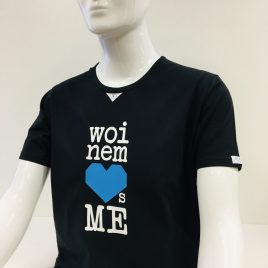 Woinem Loves Me – Blauherz Unisex Shirt